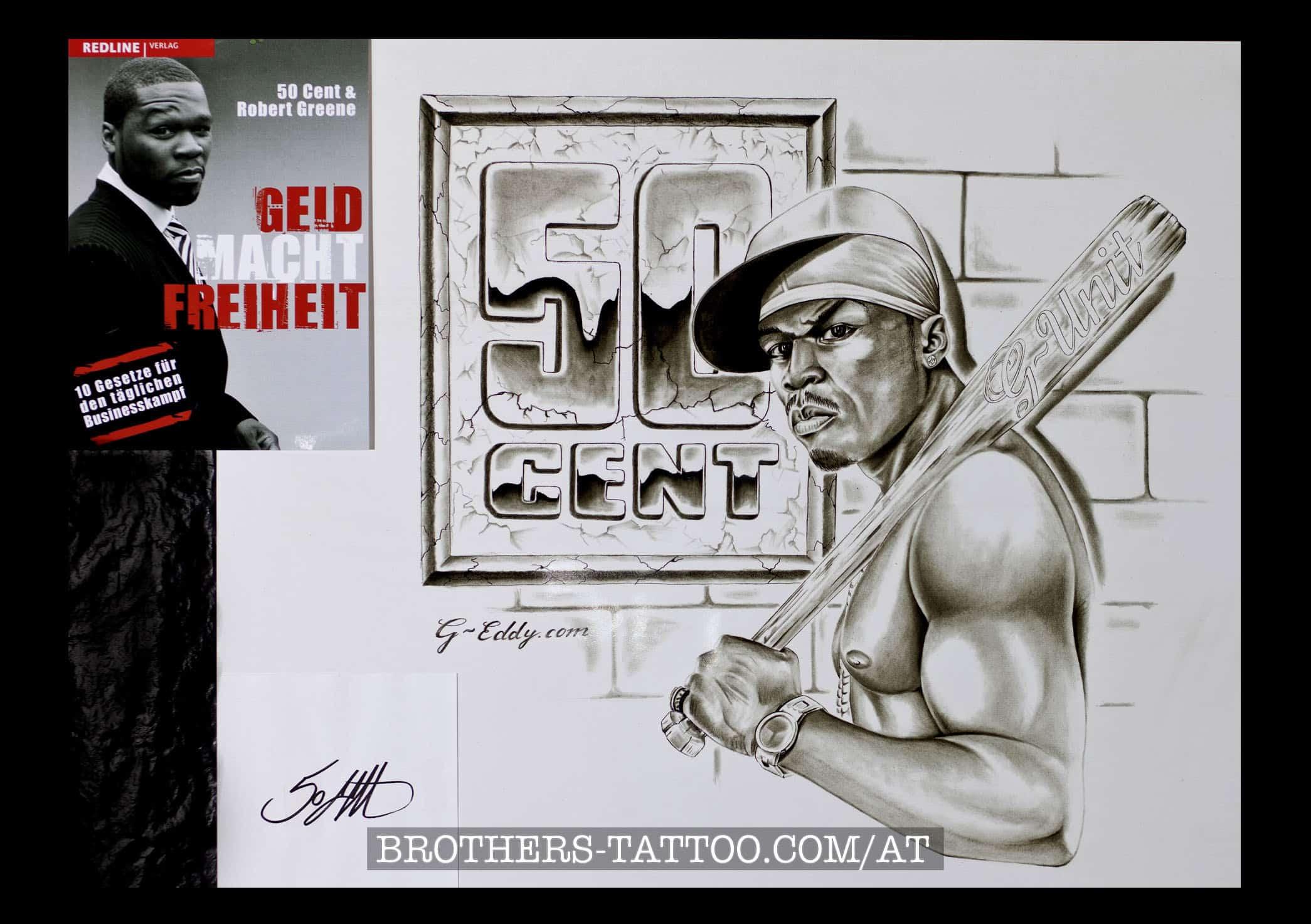 """50cent Coveralbum """"Geld macht freiheit"""""""