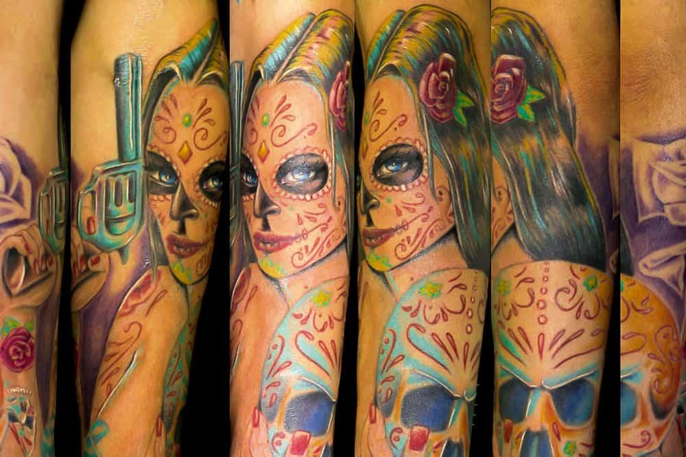 Color Tattoo Work: Foto Übersicht
