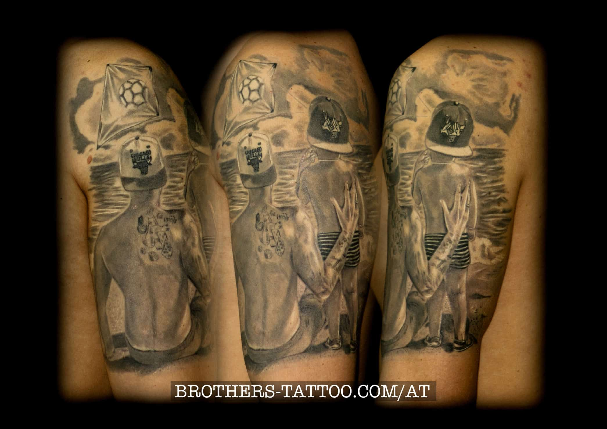 6f5a631ed Black&White Tattoofotos • ▷ Brothers Tattoo & Piercing