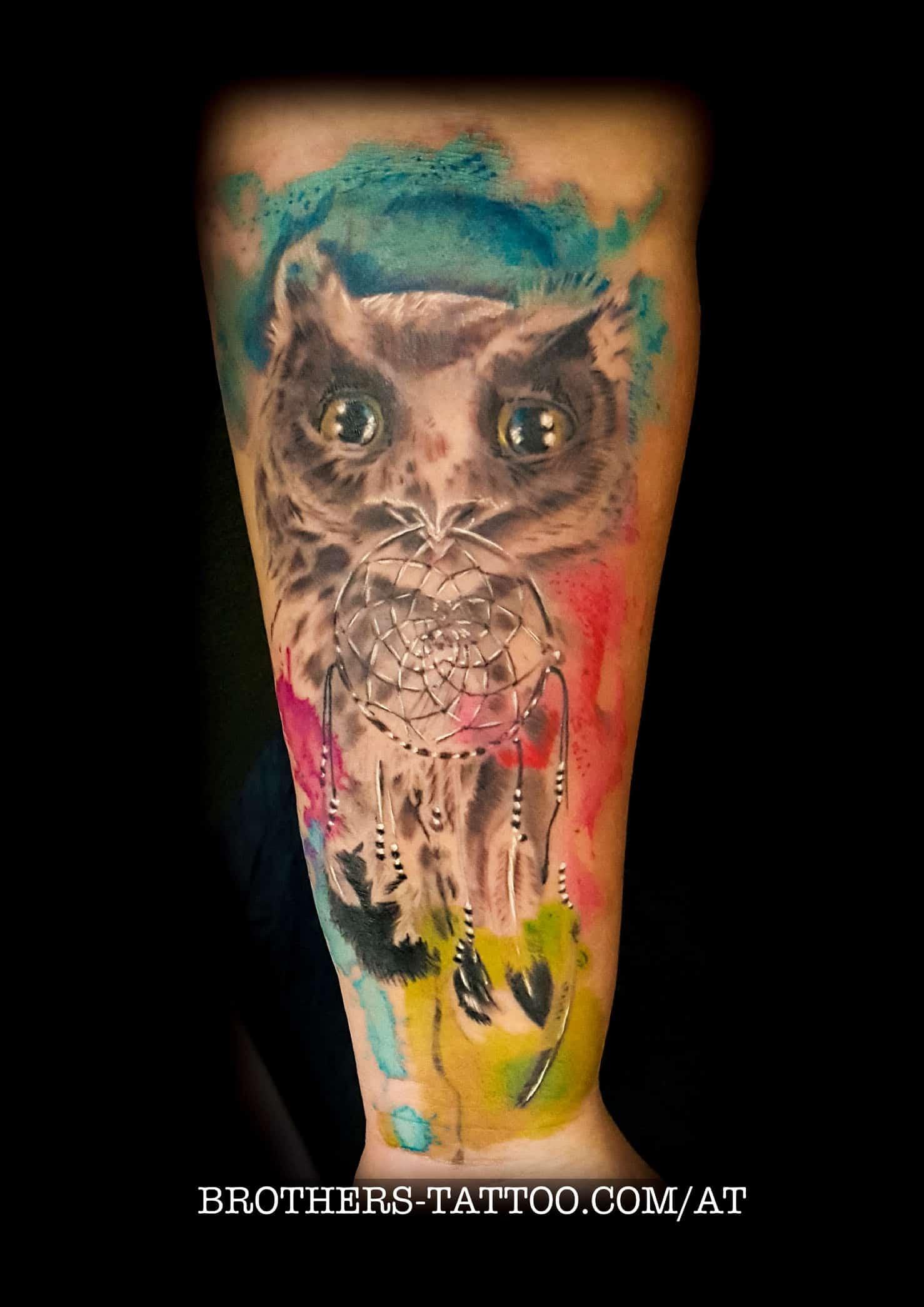 trash & watercolor tattoomotive • brothers tattoo & piercing