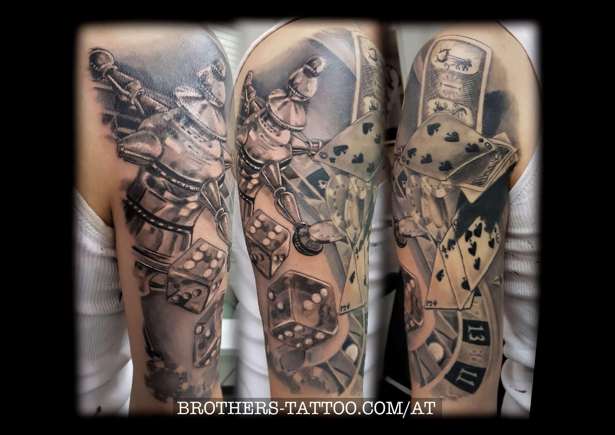 casino tattooarbeit von Eddy aus Linz