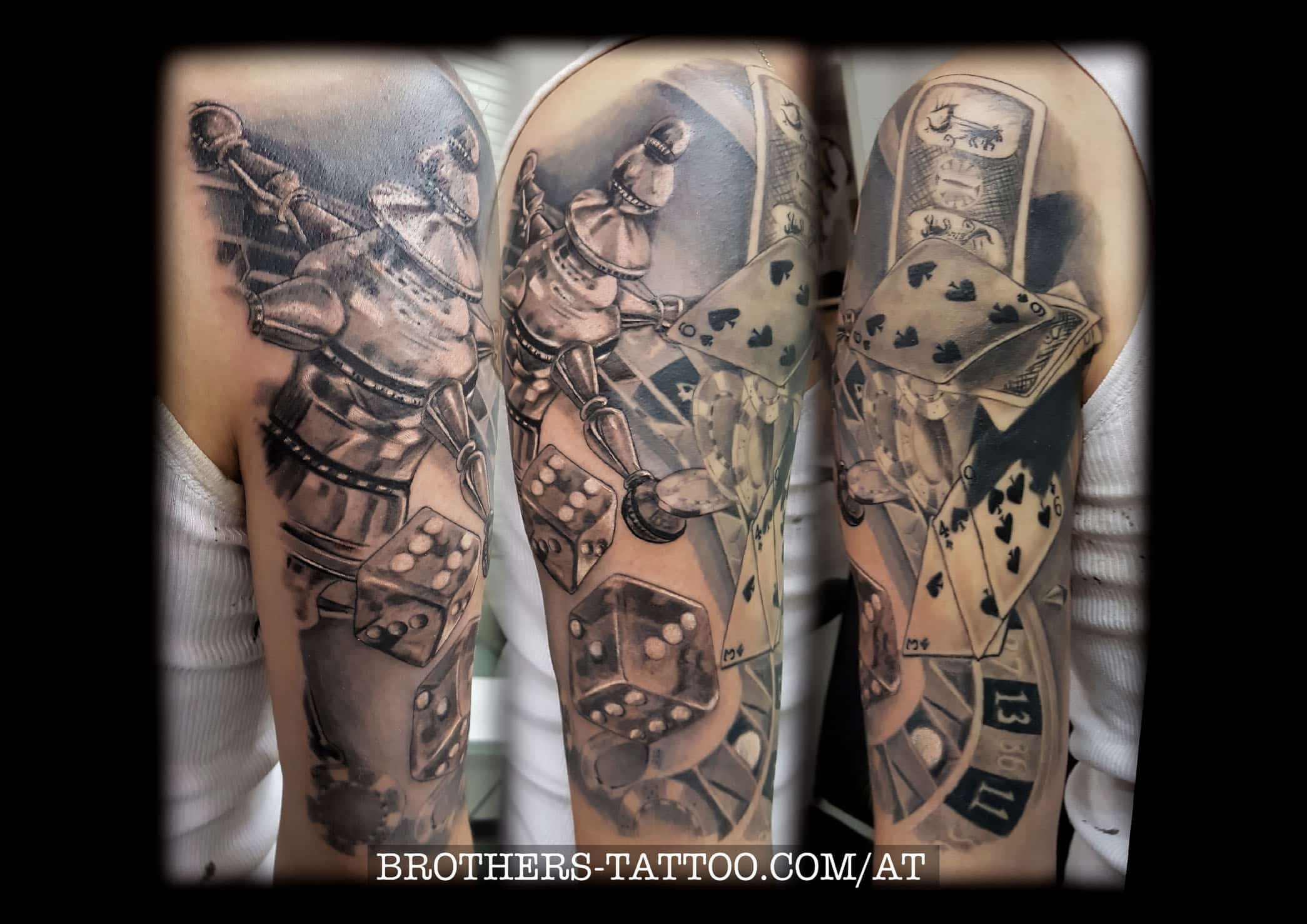 Biomechanik Tattoo Ganzer Arm tattoo stilarten • brothers tattoo & piercing aus linz in