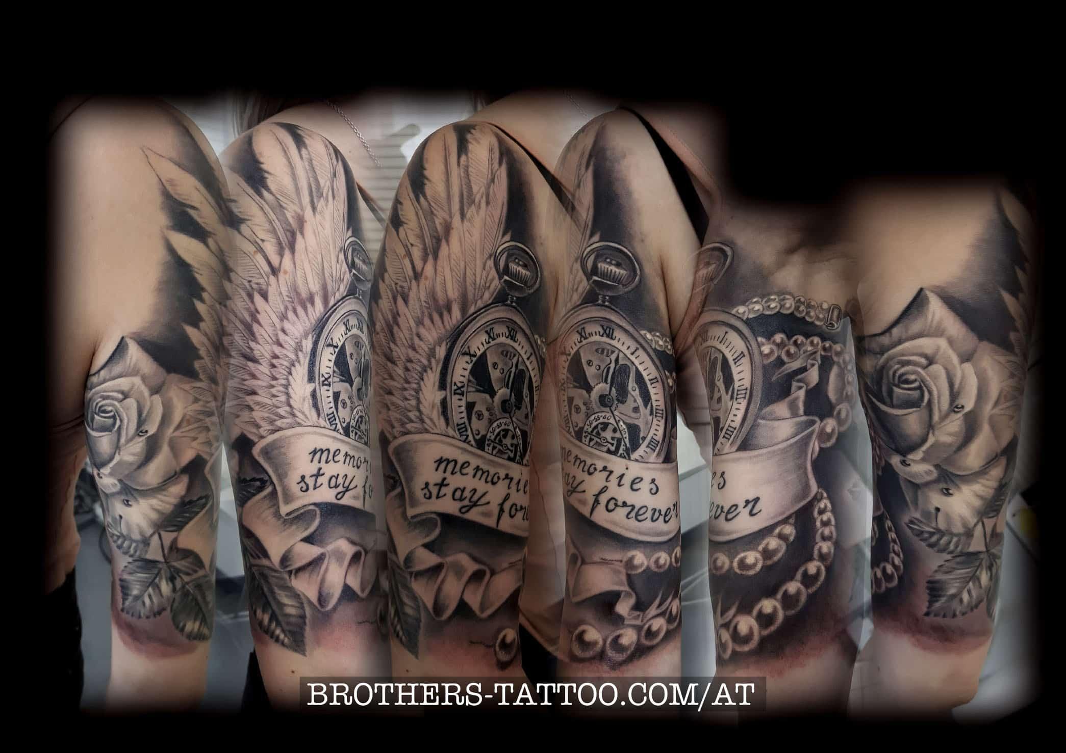 Tattoo Stilarten Brothers Tattoo Piercing Aus Linz In Oberösterreich